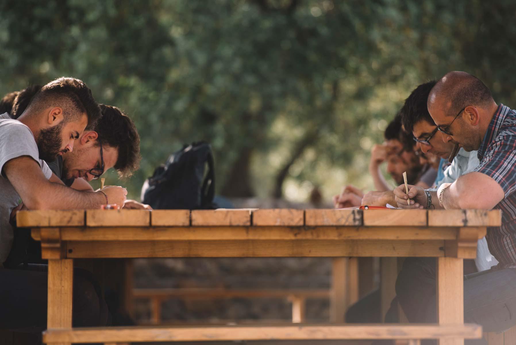 Written test | Planeta | Passopisciaro | Etna | Sicilia | Italy